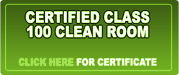 certified class 100 clean room data recovery